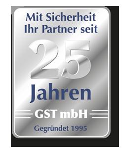 2020: 25 Jahre GST mbH, gegründet 1995