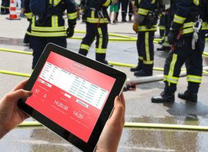 AEOS-Zutrittskontrolle & Evakuierungssoftware